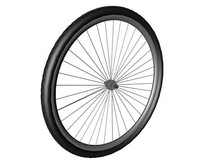 bike wheel 3ds