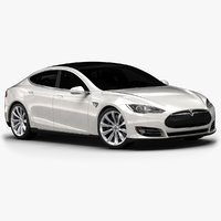 2014 Tesla Model S (Low Interior)