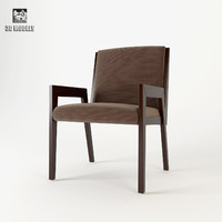 3d model baker francis arm chair