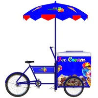 ice cream cart 3d model