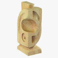 max sandstone abstract sculpture stone