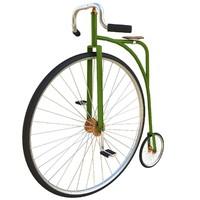 3d penny bike