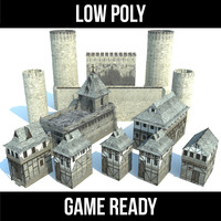 castle kit games 3d max