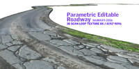 3d parametric editable roadway
