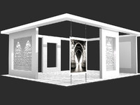 Exhibition stand - ST0017
