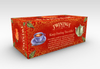 3ds twinings tea box