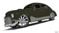 custom car GAZ-M20 Pobeda