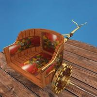 3d model roman war chariot