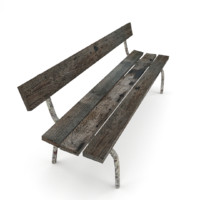 3ds max old bench