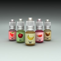 eliquid bottles set ma