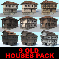 3 old houses collection