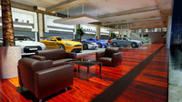 showroom cars optimized 3d model