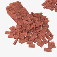 Bricks Pack Low Poly