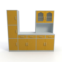 3ds max cabinet kitchen interior