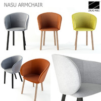 3d model zilio armchair nasu