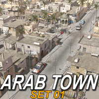 Arab Town-Set01_Multi Format