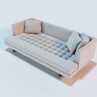 edward bensen sofa 3d 3ds