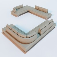 3d ds-165 sofa hugo ruiter model