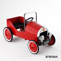 max classic pedal car baghera