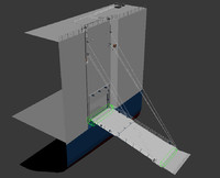 3d ramp door center