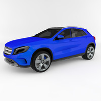 mercedes-benz gla 3d model