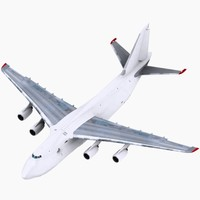 antonov an124 white 3d model