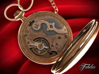 pocketwatch mechanism obj