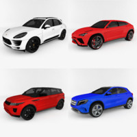 suv car pack 3ds