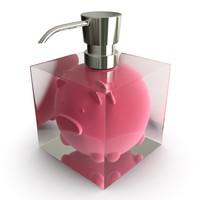 soap dispenser obj