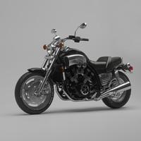 3d musclebike yamaha v-max 1200