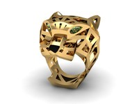 rhino cartier jewellery ring