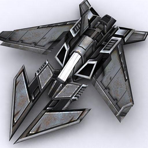 3DRT - Sci-Fi Fighter 9