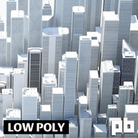 city architecture 3d max