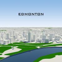 dwg edmonton cityscape
