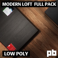 3d pack loft model