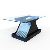 modern tables 3d model