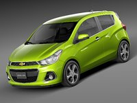 3ds max 2016 chevrolet spark