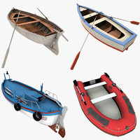 maya rowboats fishing boat