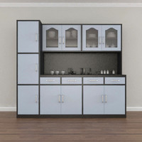 3d model cabinet kitchen interior