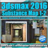3ds max 2016 Substance Map 1- 2_Subscription 3 Mesi