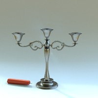 candle holder 3ds