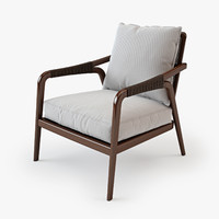 mcguire knot lounge chair 3d max