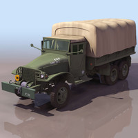 3ds military gmc truck