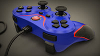 gamepad gigatech usb controller 3d model