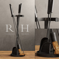 INDUSTRIAL HEARTH TOOL SET
