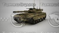 3d model tank interior