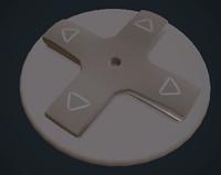 3d d pad model