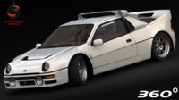 Ford Evo RS 200 1985