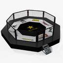 wrestling arena 3D models