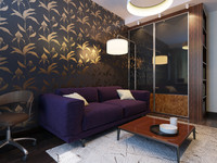 living room interior max
